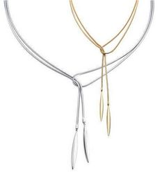 Tiffany Outlet Strip Fall in Silver and Gold Sets