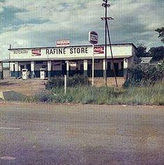 Store on outskirts of Salisbury, Rhodesia (rustyproof) Tags: africa shop store general gas butcher zimbabwe salisbury petrol gasoline 1970s total butchery harare bulawayo rhodesia tynwald kadoma rafine gatooma dzivarasekwa
