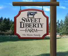 Custom Farm Sign by RichardMalacek on Etsy, $200.00