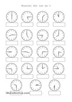 vorgegebene Uhrzeiten einstellen – Rebel Without Applause Kindergarten Math Worksheets, School Worksheets, Worksheets For Kids, Math Activities, Teaching Kids, Kids Learning, Montessori Math, German Language Learning, Math Addition
