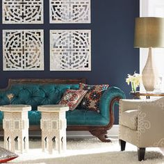 Navy And Gold Bedroom Design, Pictures, Remodel, Decor and Ideas