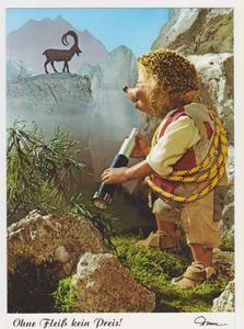 Mecki - AK,Diehl Verlag Nr. 456,hedgehog