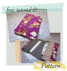 Soubelles: Super Easy Wallet - Free pattern & tutorial