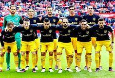 EQUIPOS DE FÚTBOL: ATLÉTICO DE MADRID contra Sevilla 23/10/2016