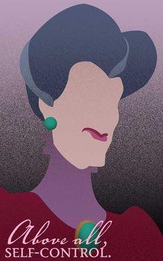 Lady Tremaine Cinderella / Disney Villains Inspired by FADEGrafix Evil Disney, Cinderella Disney, Dark Disney, Disney Nerd, Disney Love, Villains Party, Disney Villains, Disney Animation, Disney Channel