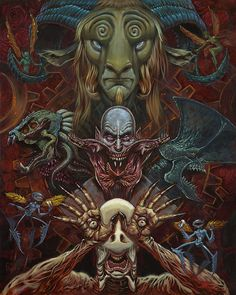 """Augie Pagan """"Los Monstruos de Del Toro"""" – Gallery1988"""