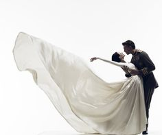 The Australian Ballet's Swan Lake, choreographed by Graeme Murphy.  With Amber Scott as Odette and Adam Bull as Siegfried.