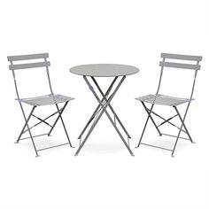 Amazon Fr Ensemble Salon Complet Chaise Pliante Salon De Jardin Table Bistrot