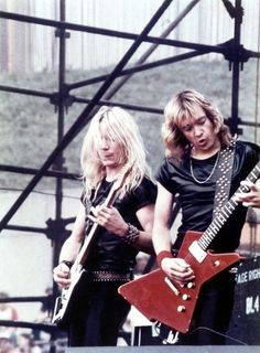 Dave Murray & Adrian Smith