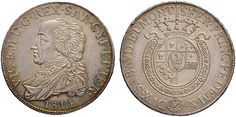 NumisBids: Nomisma Spa Auction 50, Lot 351 : Vittorio Emanuele I (1814-1821) Mezzo scudo 1814 – Pag. 16; Mont. 3...