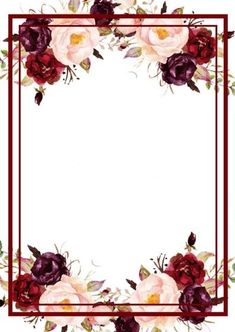 Flower Background Wallpaper, Flower Phone Wallpaper, Framed Wallpaper, Cute Wallpaper Backgrounds, Pretty Wallpapers, Flower Backgrounds, Background Patterns, Wedding Invitation Background, Wedding Background