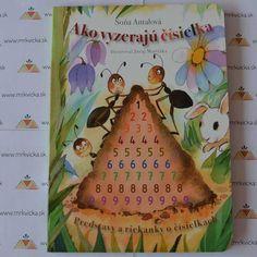 Mrkvicka.sk, detské knihy, básničky pre deti, Ako vyzerajú čísielká
