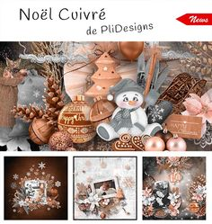 "Noel Cuivre from Pli Designs at From France! Don't miss to ""subscribe to the designer"" to follow all the releases of your favorite designer (click on the left button ...near ""add to cart""). Noel Cuivre; http://scrapfromfrance.fr/shop/index.php?main_page=advanced_search_result&keyword=NOEL+CUIVRE&search_in_description=1&categories_id=&inc_subcat=1&manufacturers_id=37&pfrom=&pto=&dfrom=dd/mm/yyyy&dto=dd/mm/yyyy&x=28&y=12. 11/25/2015"