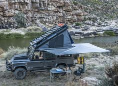 @designboom : the land rover defender icarus roof conversion features a built-in tent that deploys in seconds https://t.co/KwywONmMH6