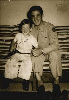 Al Pacino with his dad