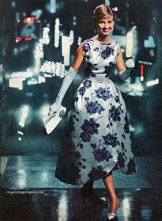 1957-1950's fashion.. What happened to being elegant?