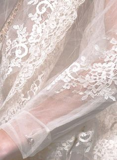 valentino... and a lace sleeve...