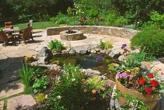 A creek runs through it - traditional - patio - san francisco - Garden LIghts Landscape and Pool Development Inc.