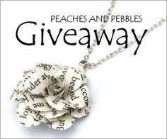 Enter Jewelry #Giveaway to win gift card to Peaches and Pebbles by 11:59pm EST on August 20, 2013.