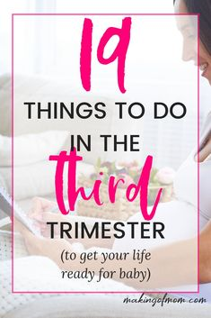 What to do in the third trimester of pregnancy - your checklist to make life easier after baby comes! Here's how to prepare your life and self for the new arrival that'll shake up your world! Tips, tricks, and hacks from experienced moms! All About Pregnancy, First Pregnancy, Pregnancy Guide, Baby Gender Prediction, To Do Checklist, Pregnancy Calculator, Getting Ready For Baby, Pregnancy Signs, Quotes About Motherhood