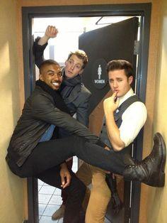 Nick Pitera and friends acting silly! Hahahaha! :D