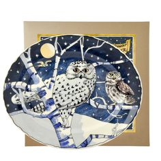 Owls by Night platter by Emma Bridgewater - Sept 2016