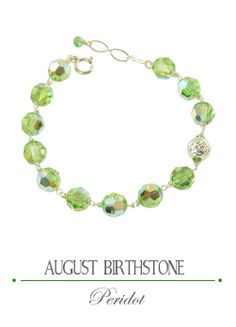 The gift of Peridot symbolizes good luck, abundance, love and prosperity. It is believed to heal a stressful relationship, lessen anger, jealously and slow the aging process.