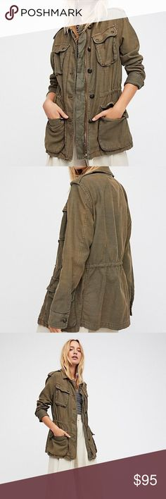 Free People Not Your Brother's Surplus Army Jacket Amazing military style jacket from Free People, brand new with tags. Free People Jackets & Coats Utility Jackets
