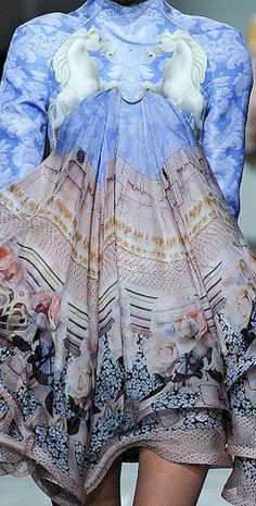 Mary Katrantzou - mixed print fashion inspirations