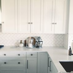 White Kitchen Herringbone Backsplash how to diy a white herringbone kitchen backsplash. we are so