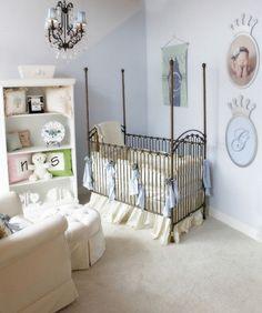 Las 20 mejores imágenes de cuartos de bebé varón y decoración | Baby ...