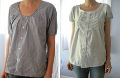 How to Upcycle Clothing – Men's Shirt Refashion Made Simple