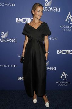 """Carolyn Murphy wears a Rafe """"Dawn"""" minaudiere at the Ace Awards 2014 in New York City"""