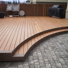 finishing details Low Wood Deck Design, Pictures, Remodel, Decor and Ideas