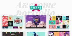 Awake - A Vibrant and Fresh Portfolio Theme - Portfolio Creative Download here: https://themeforest.net/item/awake-a-vibrant-and-fresh-portfolio-theme/19435609?ref=classicdesignp