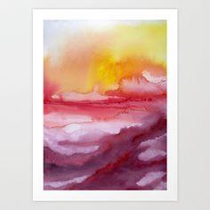 """Rise Art Print by Jacqueline Maldonado - $30 for 17""""x22"""""""