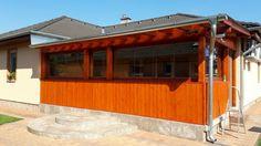 Lapozható üvegfal, tükörfóliával Garage Doors, Deck, Outdoor Decor, Home Decor, Decoration Home, Room Decor, Front Porches, Home Interior Design, Decks