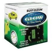 Rust-Oleum Glow in the Dark Brush-on Paint. To use on the ceiling to make stars.