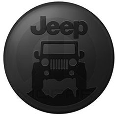 Jeep Cherokee XJ Grill Lifted Offroad Spare Tire Cover OEM Vinyl Black 32-33 in American Unlimited Gear Stealth