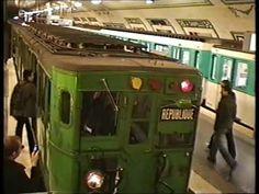 ▶ RATP : Rame historique Sprague sur la ligne 12 (2007) - YouTube - Pour les nostalgiques....