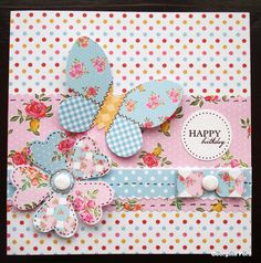 Craftwork Cards Blog: Paper Artistry Kitsch - a sketch for March