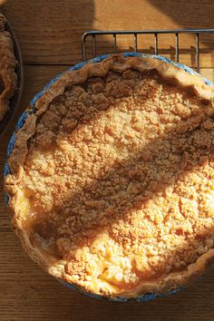 Pear and Ginger Pie with Streusel Topping | SAVEUR