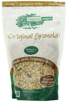 Chappaqua Crunch Original Granola, 13-Ounce Pouches (Pack of 6) * Awesome product. Click the image : Fresh Groceries