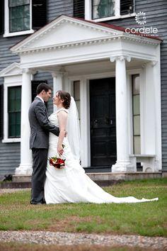 Codman Estate Wedding Photos Outdoor Venue Boston MA