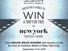 The Sequin Sparkle At NYC Fashion Week Sweepstakes