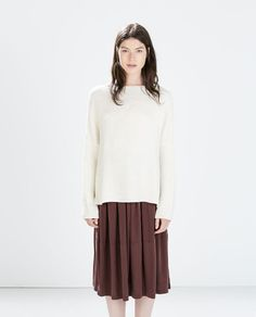 Image 1 of PONCHO SWEATER from Zara