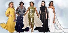 Golden Globes the key fashion trends on the red carpet - Particle News Golden Globes 2016, Red Carpet, High Neck Dress, Key, Fashion Trends, Dresses, Turtleneck Dress, Vestidos, Unique Key