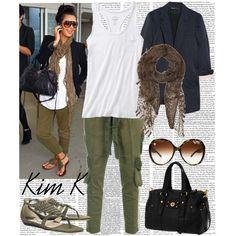 """Kim Kardashian"" by shartae on Polyvore"