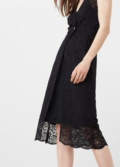 Vestido guipur