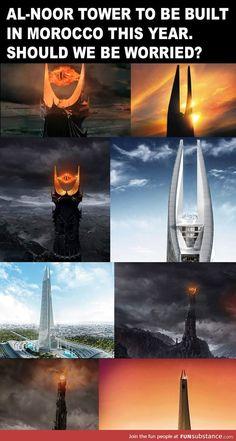 Sauron you naughty boy